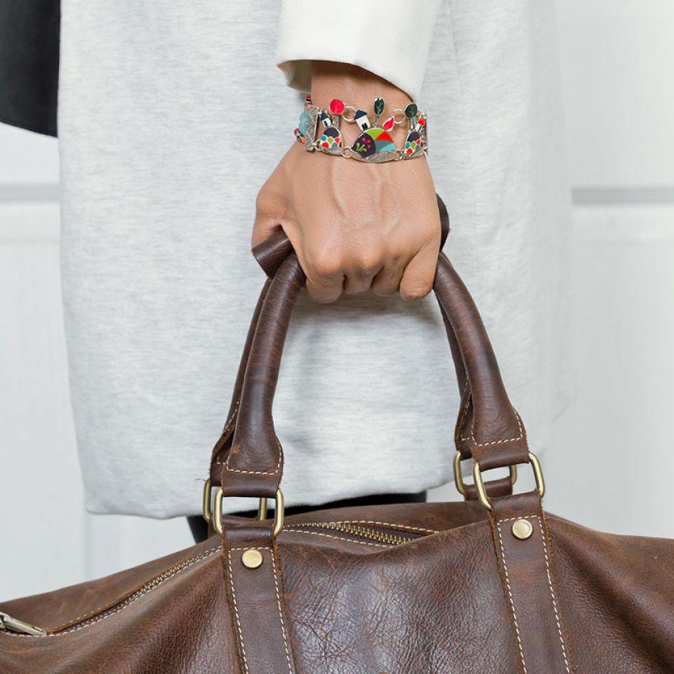 Bracelet Week-end Argent Multi Taratata Bijoux Fantaisie en ligne 2
