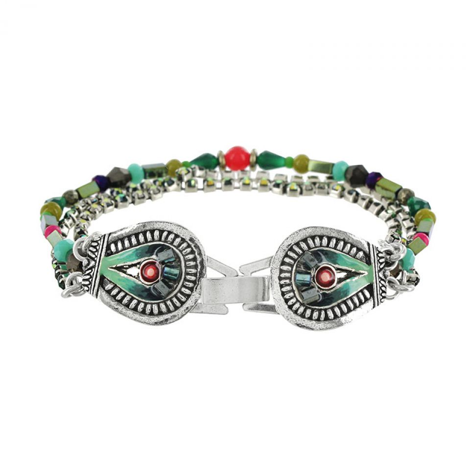 Bracelet Zamba Argent Multi Taratata Bijoux Fantaisie en ligne 3