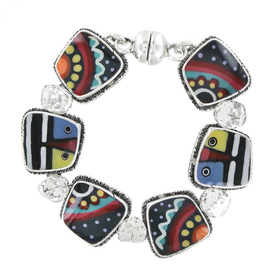 Bracelet Zazou Argent Multi Taratata Bijoux Fantaisie en ligne 2