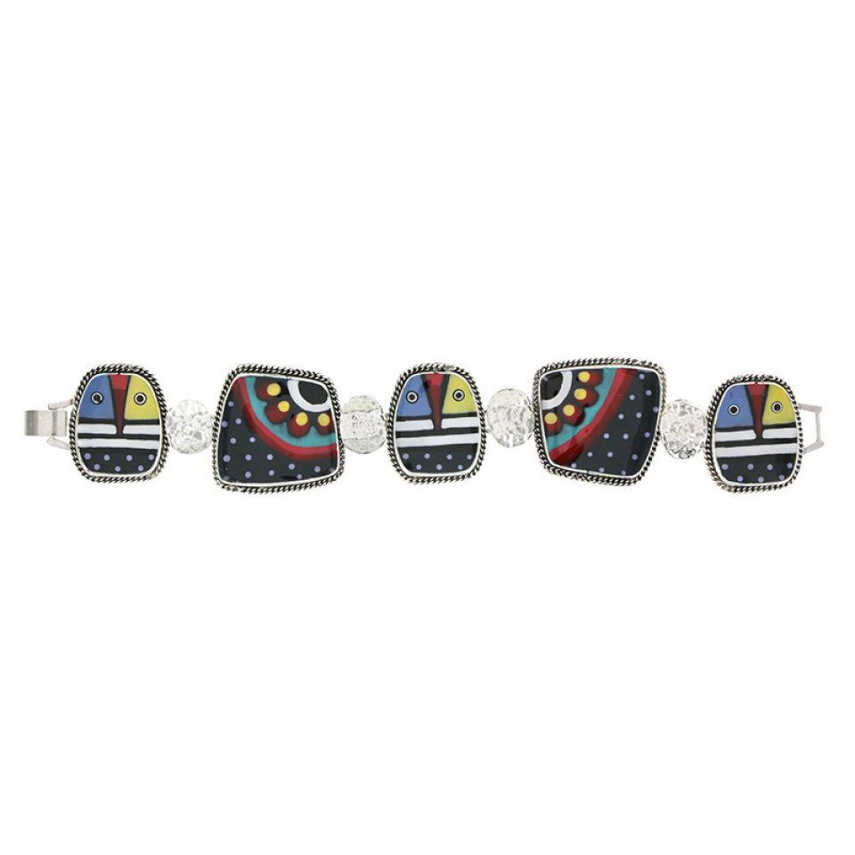 Bracelet Zazou Argent Multi Taratata Bijoux Fantaisie en ligne 3