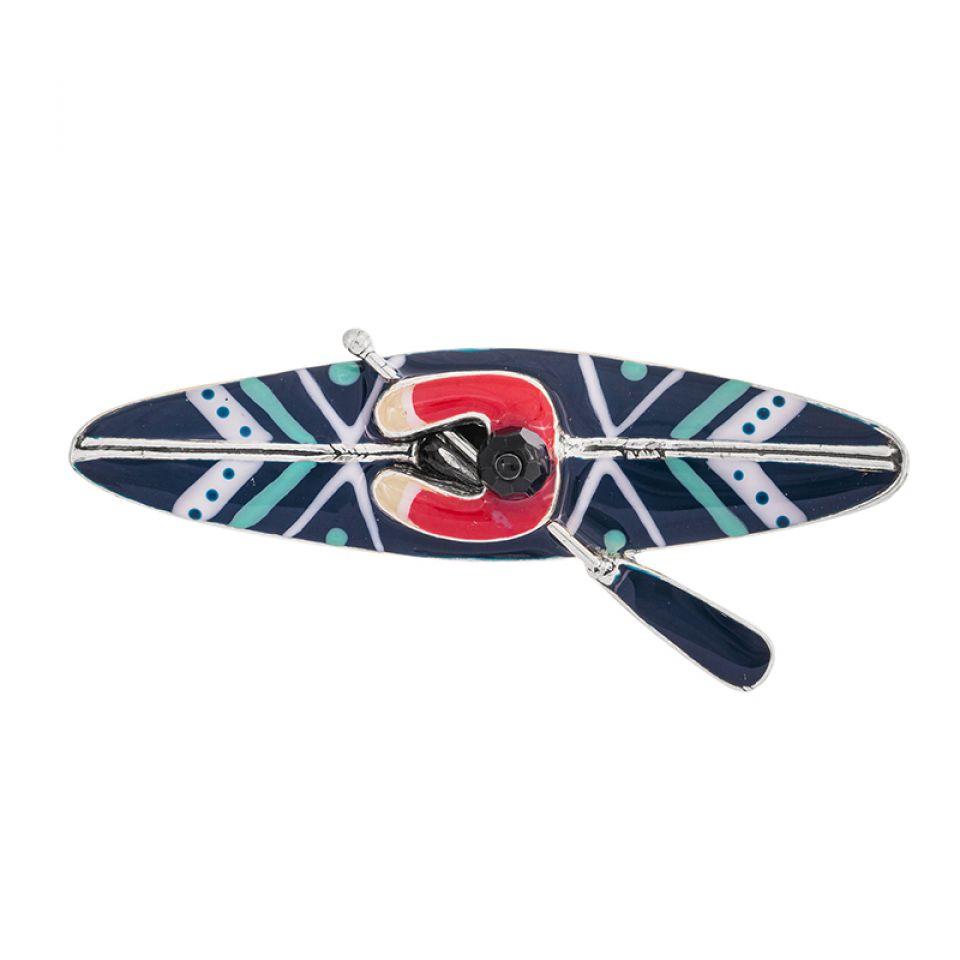 Broche Canoe Argente Multi Taratata Bijoux Fantaisie en ligne 2