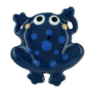Broche Tarabea Bleu