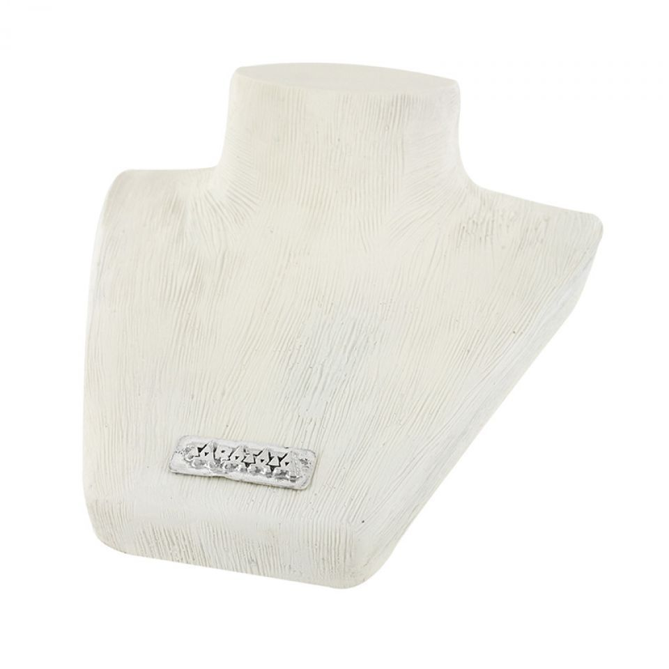 Buste En Resine Blanc Petit Modele 10cm Taratata Bijoux Fantaisie en ligne 1