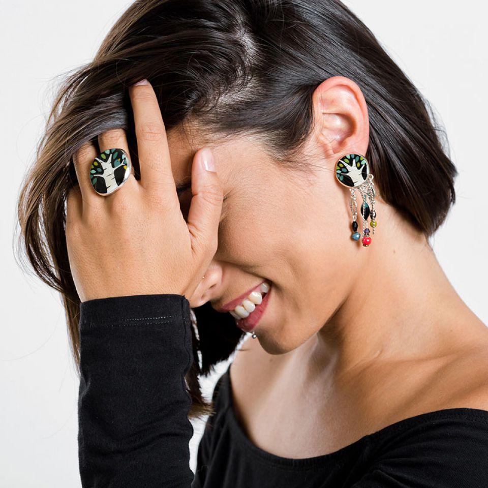 Clips Charme Argent Multi Taratata Bijoux Fantaisie en ligne 3