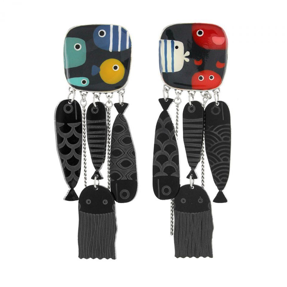 Clips Dandinette Argent Multi Taratata Bijoux Fantaisie en ligne 1