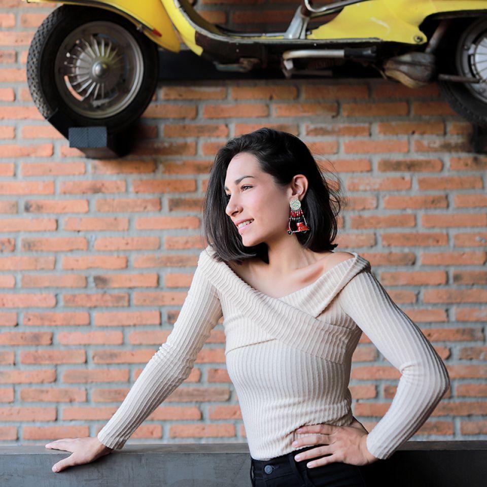 Clips Gina Argent Rouge Taratata Bijoux Fantaisie en ligne 1