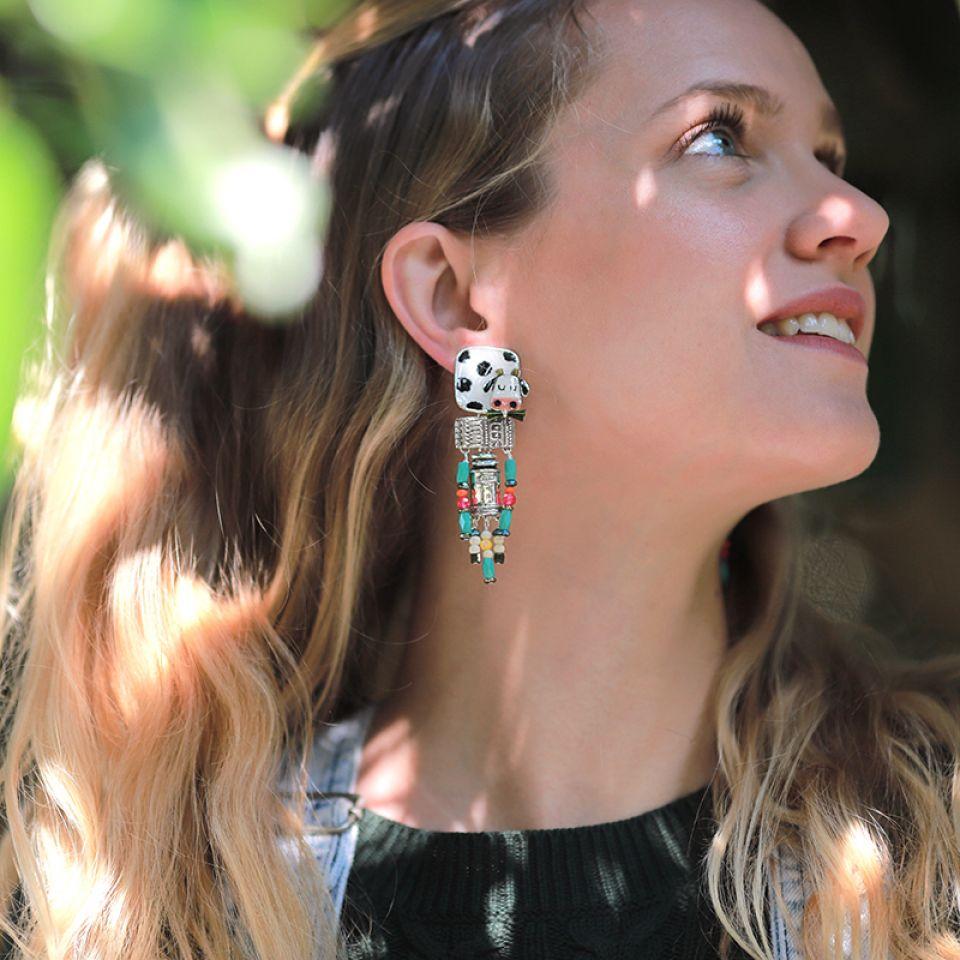 Clips Marguerite Argent Multi Taratata Bijoux Fantaisie en ligne 2