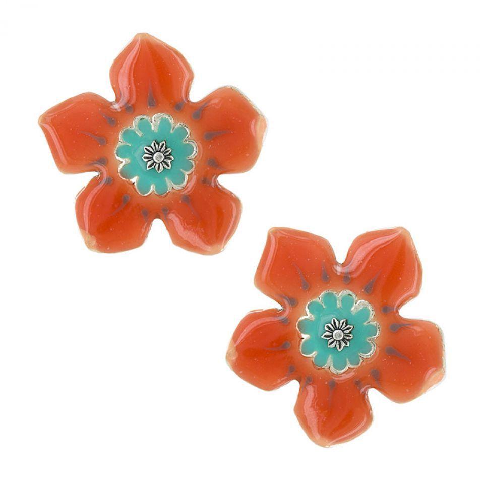 Clips Orangeade Orange Taratata Bijoux Fantaisie en ligne 1