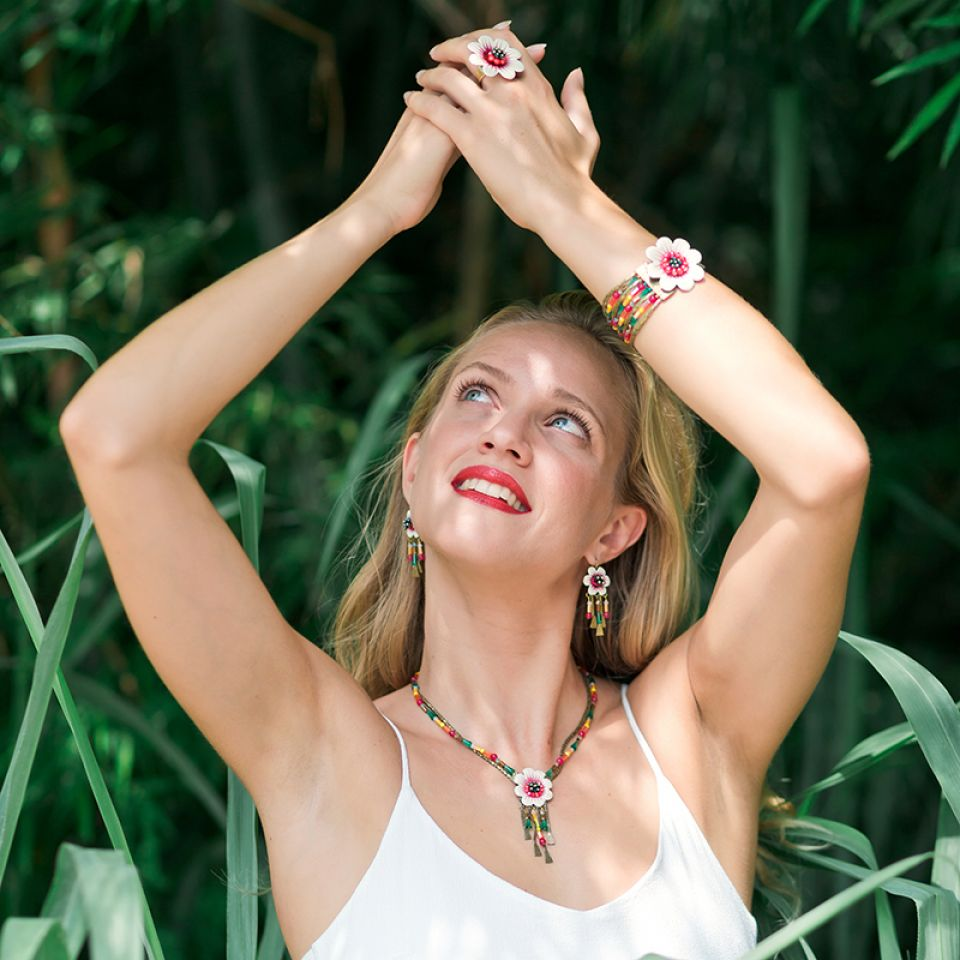 Collier Alicante Bronze Multi Taratata Bijoux Fantaisie en ligne 2