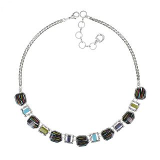 Collier Art Ensemble Argent Multi