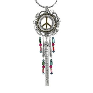 Collier Baba-chic Argent Multi
