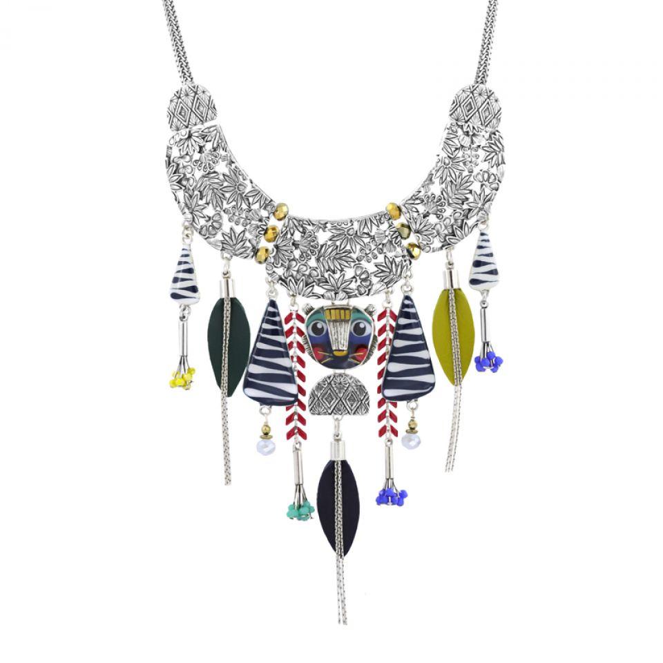 Collier Bengale Argent Multi Taratata Bijoux Fantaisie en ligne 1
