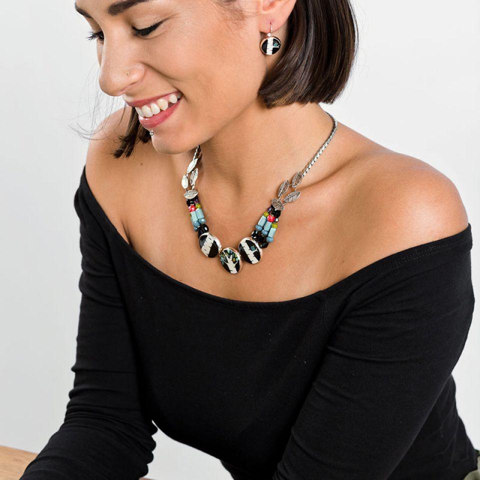 Collier Charme Argent Multi Taratata Bijoux Fantaisie en ligne 2