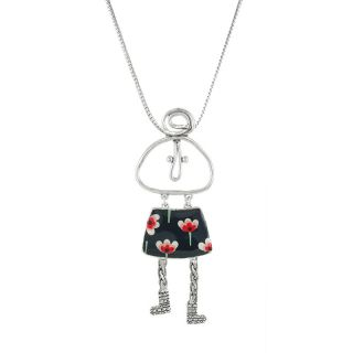 Collier Filipendule 2 Argent Multi
