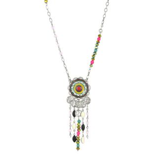 Collier Liz Argent Multi