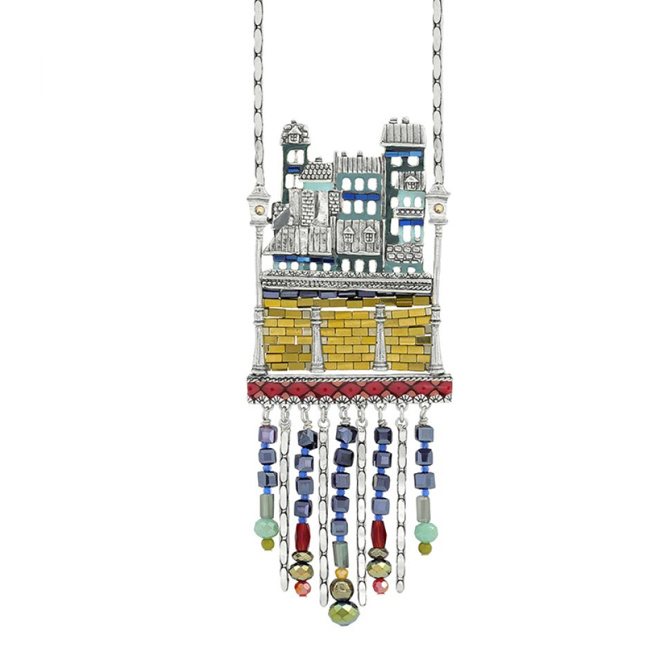 Collier Loft Argent Multi Taratata Bijoux Fantaisie en ligne 1