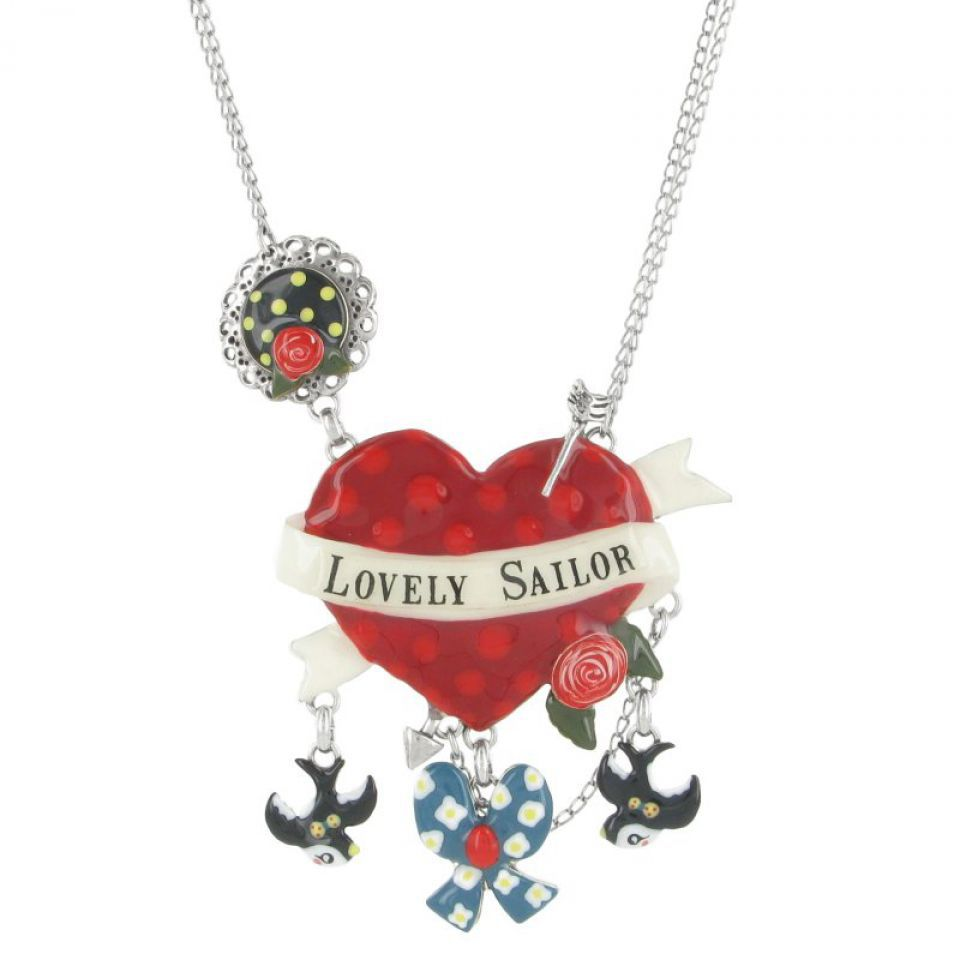 Collier Lovely Sailor Multi Taratata Bijoux Fantaisie en ligne 1