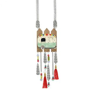 Collier Nationale 7 Argent Multi