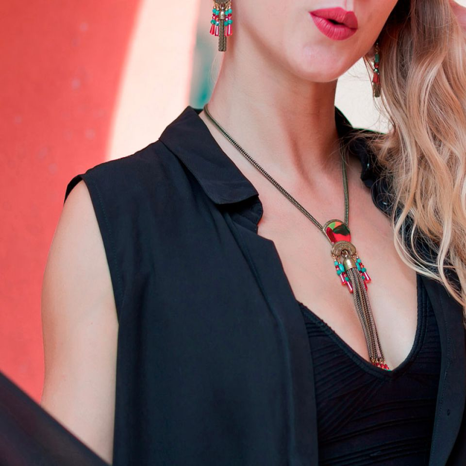 Collier Pablo Bronze Multi Taratata Bijoux Fantaisie en ligne 1