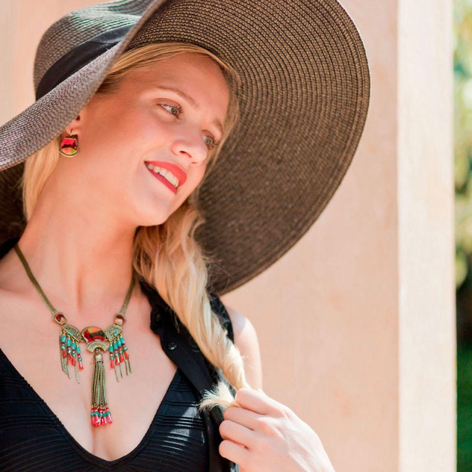 Collier Pablo Bronze Multi Taratata Bijoux Fantaisie en ligne 2