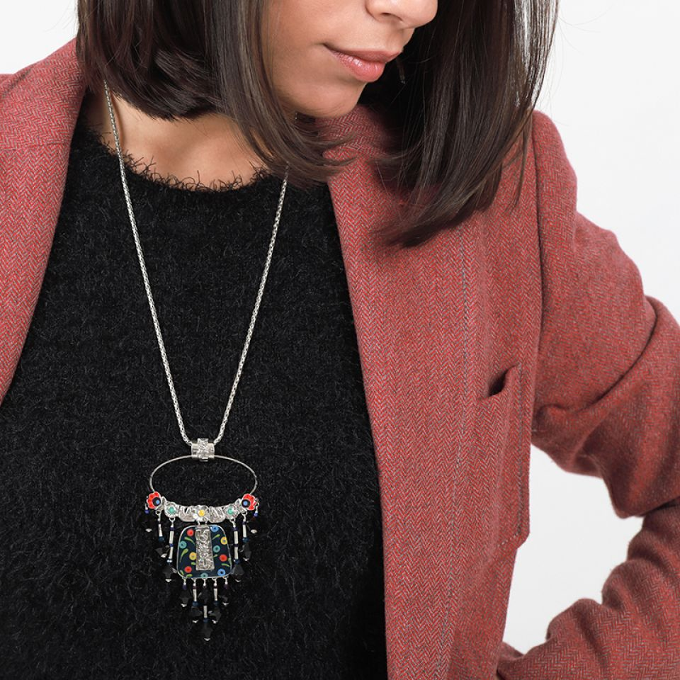 Collier Rive Gauche Argent Multi Taratata Bijoux Fantaisie en ligne 3
