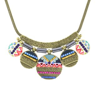 Collier Seduction Bronze Multi