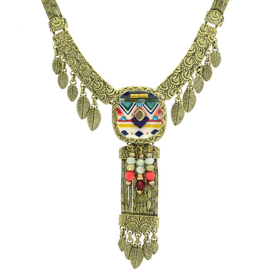 Collier Seville Bronze Multi Taratata Bijoux Fantaisie en ligne 3