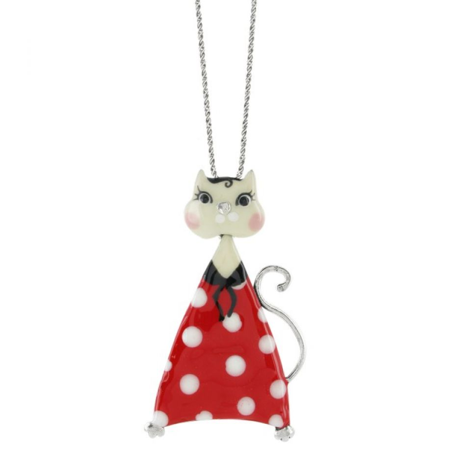 Collier Smart Cat Noir Taratata Bijoux Fantaisie en ligne 2