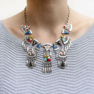 Collier Tangram Multi