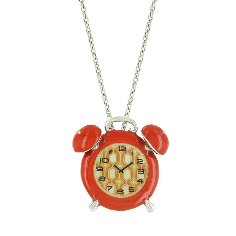 Collier Tarachou Orange Taratata Bijoux Fantaisie en ligne 1