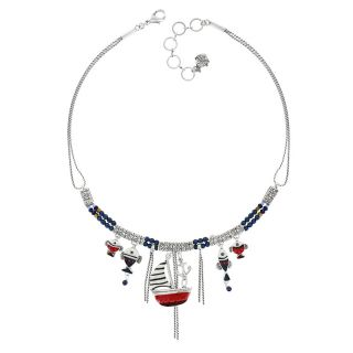 Collier Vol Au Vent Argent Multi