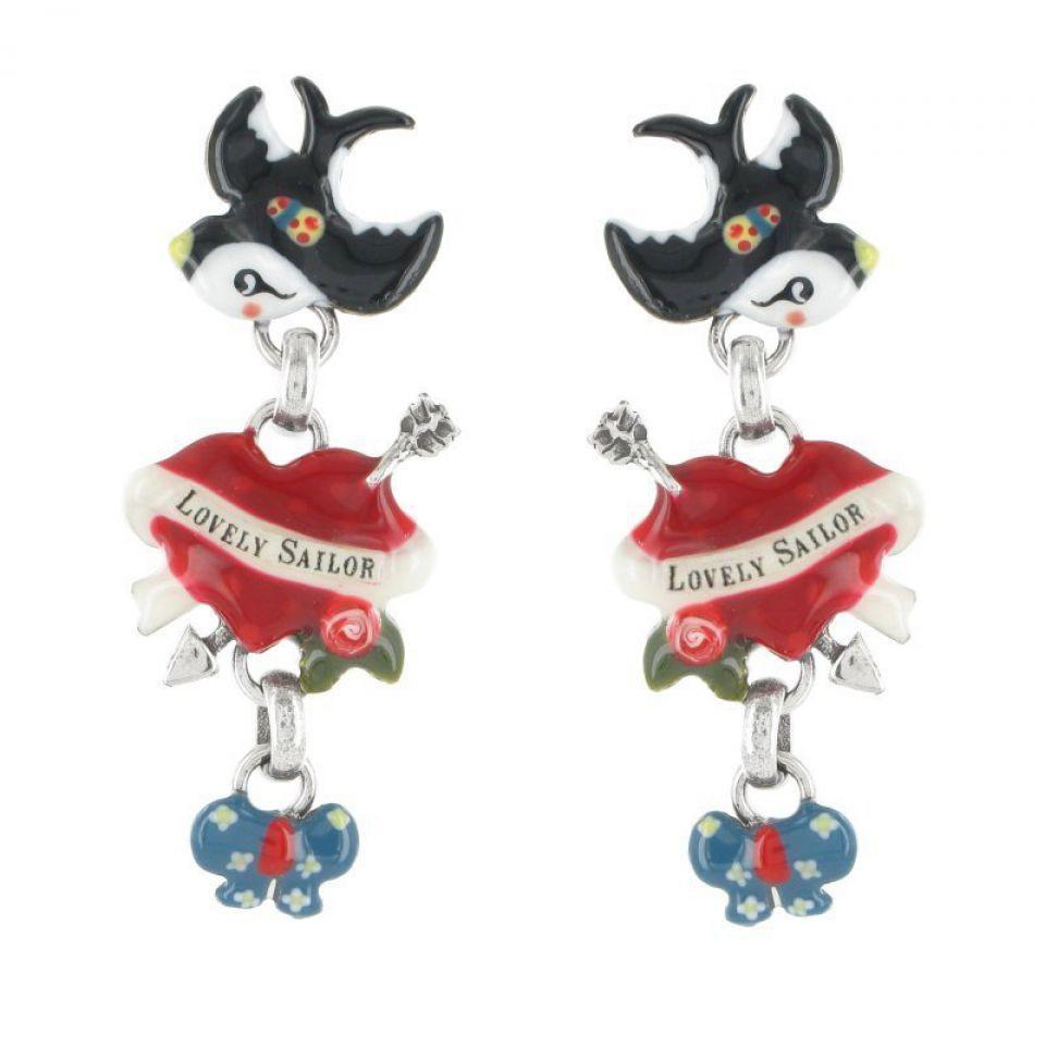 Puces Lovely Sailor Multi Taratata Bijoux Fantaisie en ligne 1