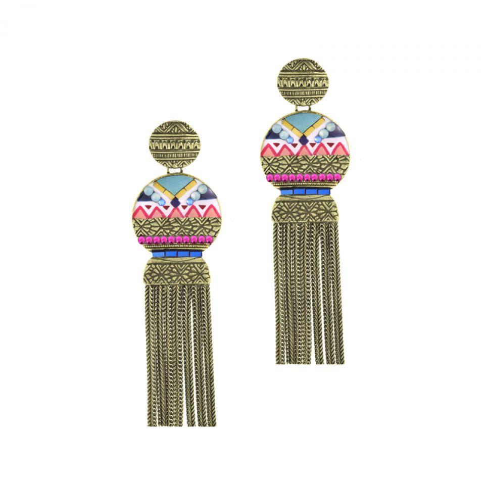 Puces Seduction Bronze Multi Taratata Bijoux Fantaisie en ligne 1