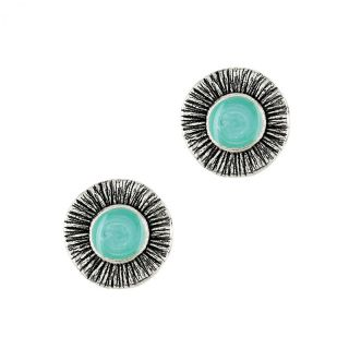 Puces Strada Argent Turquoise