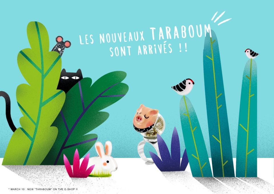 Our new TARABOUM are online !