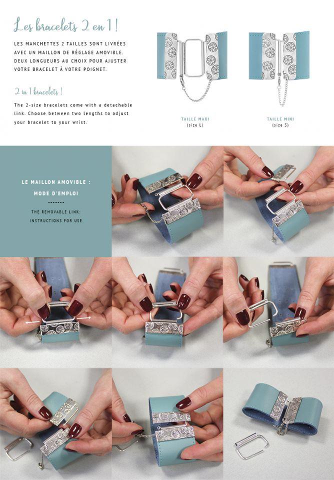 Les bracelets 2 en 1 : mode d'emploi